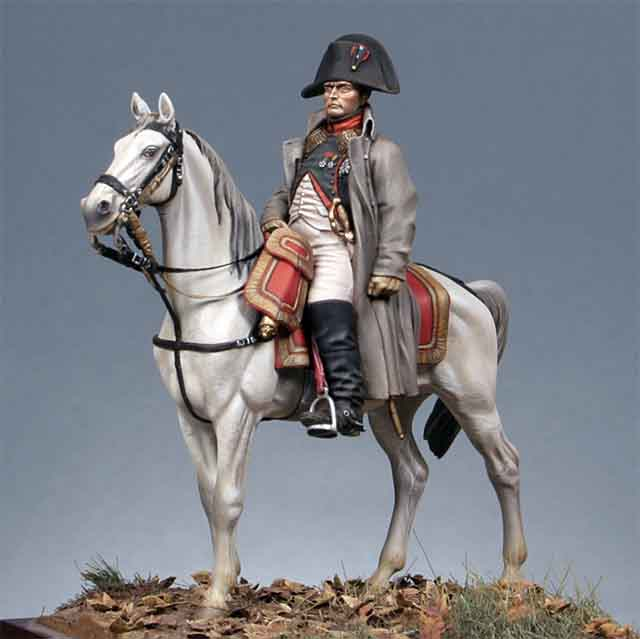 metal modeles製皇帝ナポレオンの乗馬姿