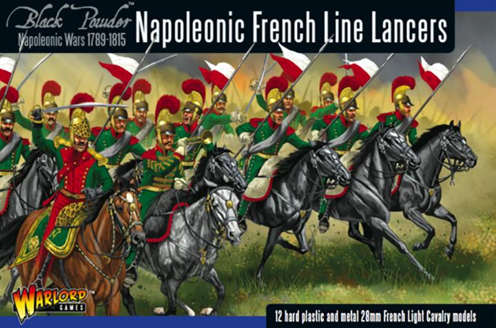 Warlord gamesの28mmフランス軍槍騎兵のインジェクションフィギュアのパッケージ