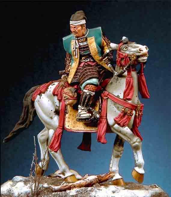 pegaso modelの福島正則の乗馬モデル