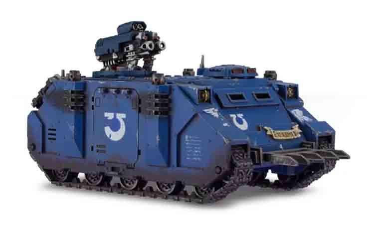 スペースマリーン戦団が保有する戦闘車輌のレイザーバック