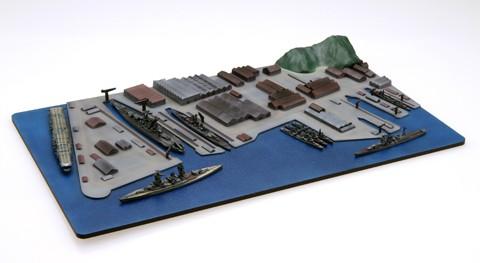 集める軍港シリーズNo1横須賀軍港のディオラマの写真