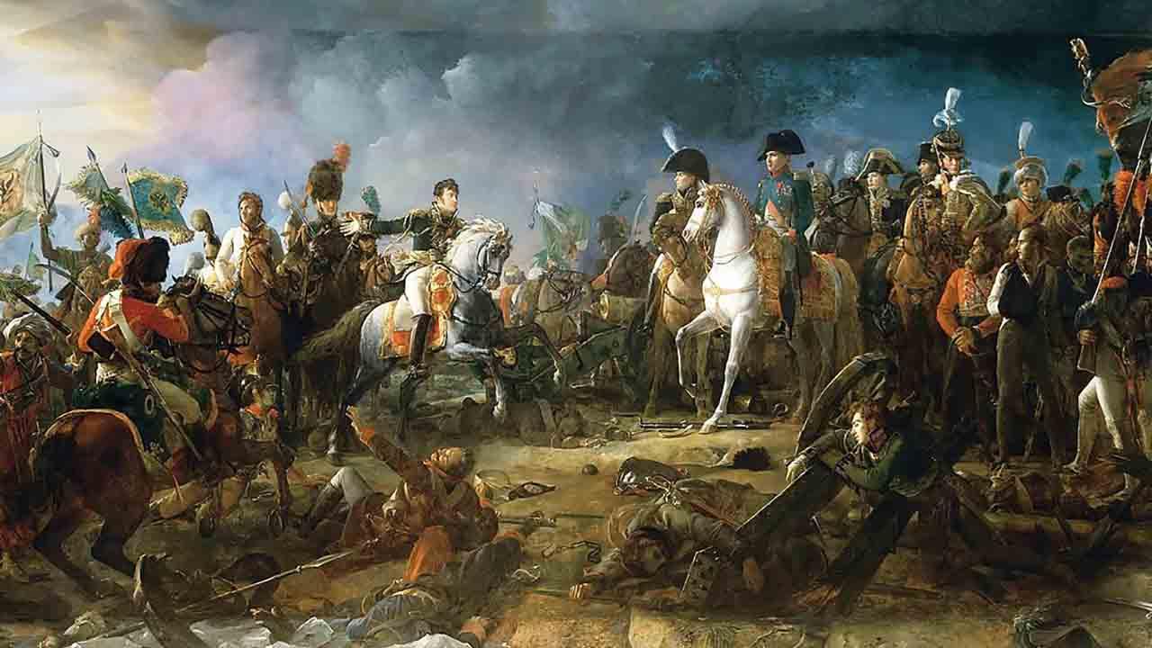 ナポレオン戦争の会戦アウステルリッツ