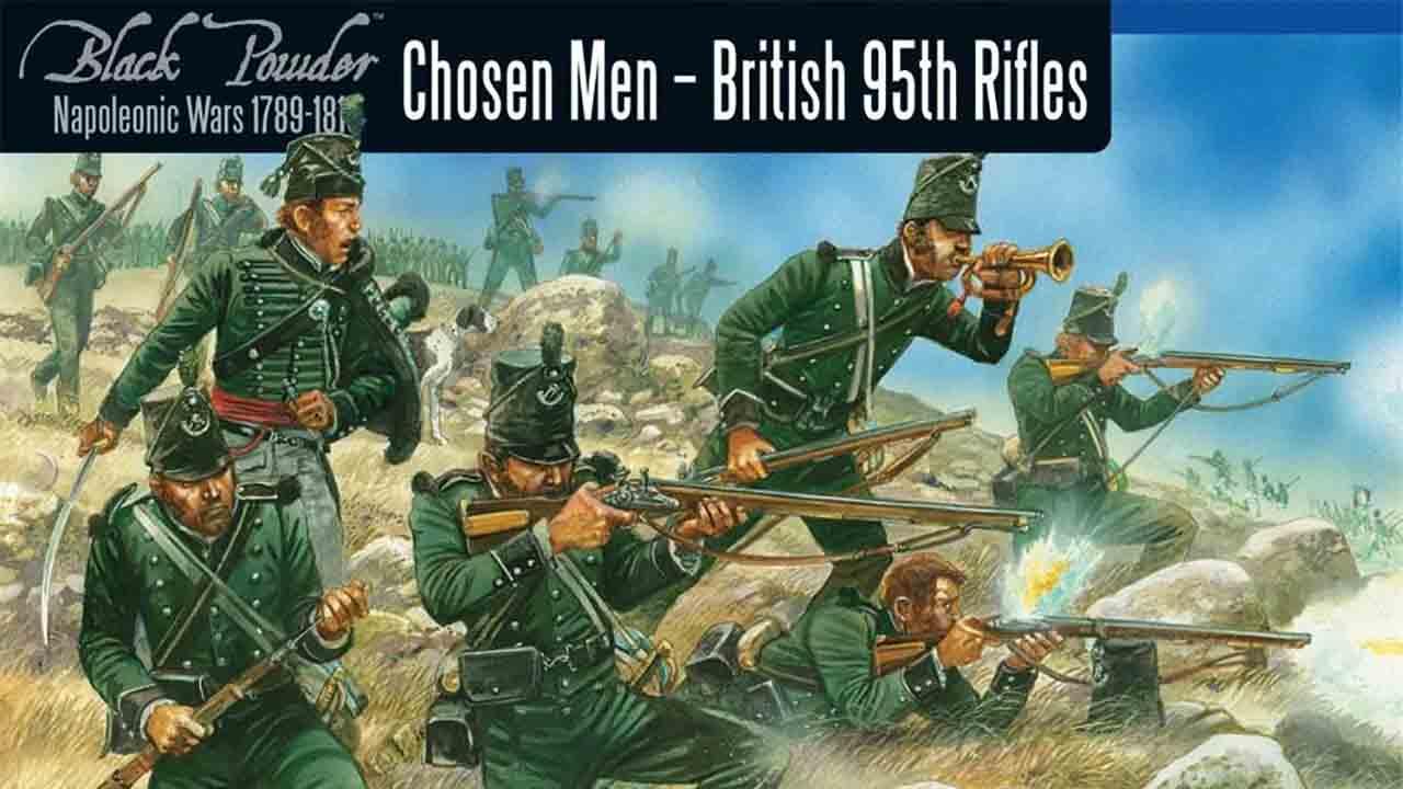 英軍第95ライフル連隊28mmキット