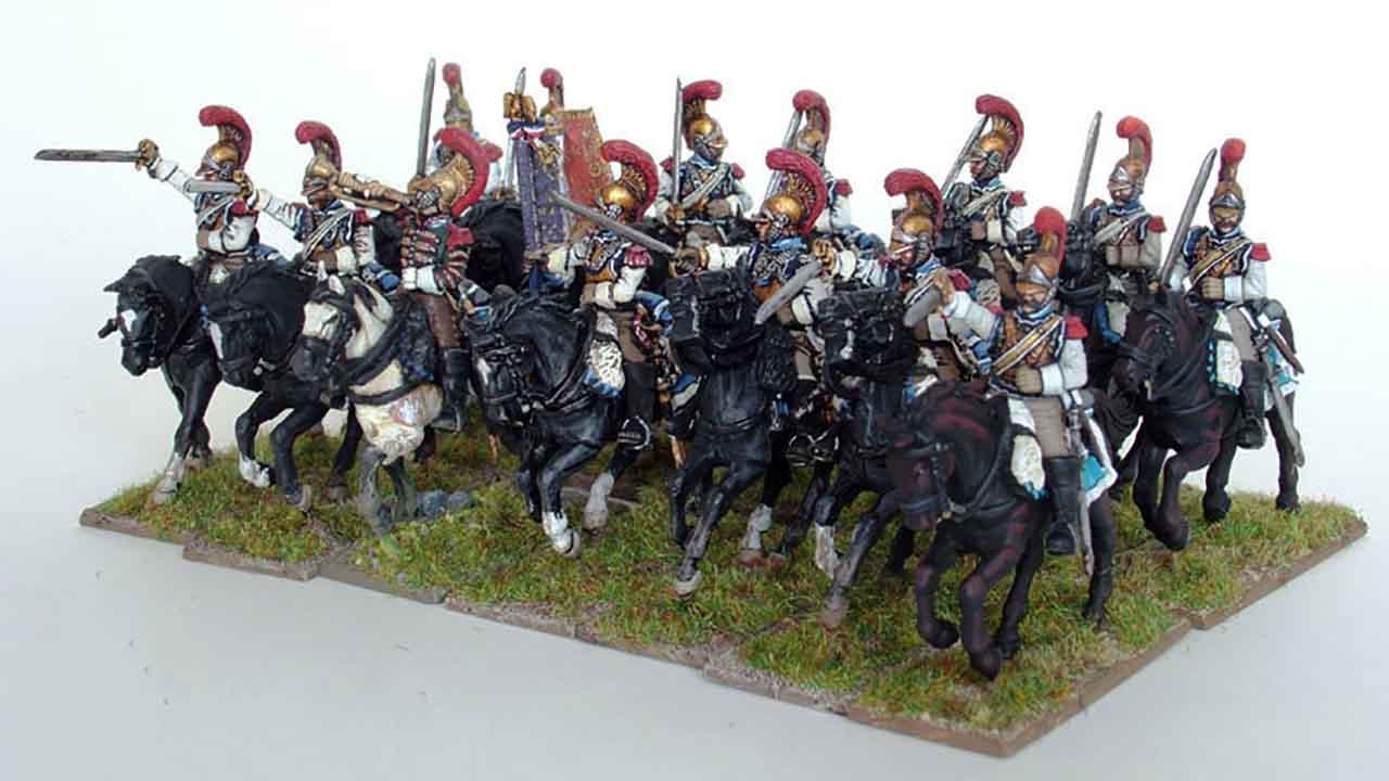 フランス軍駆逐騎銃兵の大隊
